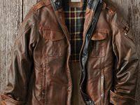Мужские кожаные <b>куртки</b>: лучшие изображения (13) в 2020 г ...