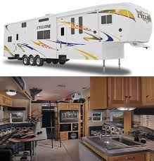 cyclone multi lifestyle toy haulers luxurious living on the go