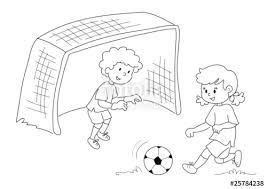 Bambini Che Giocano A Calcio Bianco E Nero Immagini E Fotografie