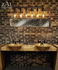 unique bathroom lighting. Unique Bathroom Lights Unusual Lighting Ideas On Rustic D