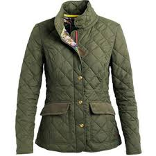 Green Womens Moredale Quilted Jacket | Joules - Polyvore & Green Womens Moredale Quilted Jacket | Joules Adamdwight.com