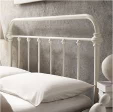 Victorian style bed frame susan decoration amazon giselle antique white  graceful lines victorian iron metal bed