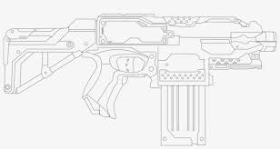 Nerf Gun Coloring Page Printable Pages Nerf Page Adult Nerf Stryfe