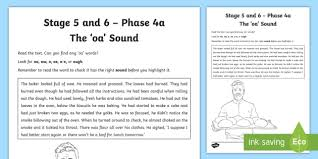 The activities can be used in kindergarten or 1st grade or for remedial work in other grades. Fabulous Phonics Oa Sound Worksheets Jaimie Bleck