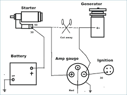 auto amp meter wiring diagram wiring diagram