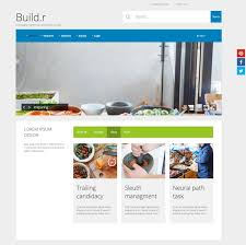Website Builder Templates Gorgeous Buildr Joomla Do It Yourself Starter Theme