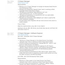 Telecom Project Manager Resume Sample 3 Engineering Project Manager