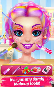 candy makeup beauty game sweet salon makeover 1 1 0 screenshot 1