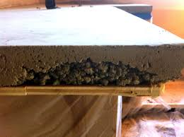 concrete countertop edge molds cur