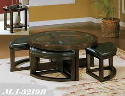 coffee table with ottomans montreal