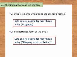Mla Quote Citation Example Fresh How To Do In Text Citations Mla