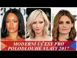 Krásné účesy Pro Střední Vlasy 2019 2020 Fotky Nápady Na účesy Pro