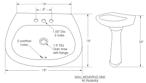 Hand Painted Wall Mount Sink How To Install Wall Mount Sink O48