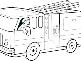 Printable Coloring Pages Trucks Trustbanksurinamecom
