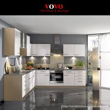 L Shaped Kitchen Design Made In Foshan China In Kitchen Cabinets