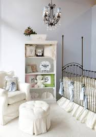 carpet in nursery nursery shab chic style with ba bed ideas chandelier for baby boy nursery