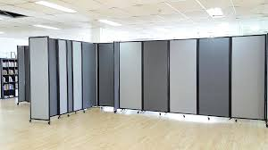 office wall divider. Office Room Divider Amazing Extraordinary Wall Dividers Free Standing Partitions Gray With Wheels