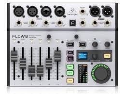 Behringer's Flow 8 is an alternative to RØDE and Zoom's podcast mixers