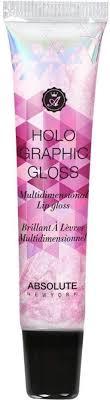 Absolute New York <b>Holographic</b> Gloss Multidimensional <b>Lip</b> Gloss ...