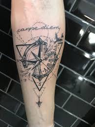 Bússola Carpe Diem Tattoos Tattoos Tattoo Designs Geometric