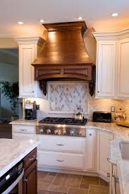 Kashmir Gold Granite Kitchen Kashmir Gold Granite Countertops With Natural Stone Backsplash