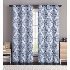 the curtains block of light and provide noise reduction for the perfect sleep anytime the easy to care for curtain pair is available in