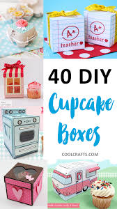 Decorative Boxes For Baked Goods Cupcake Boxes 60 DIY Ideas to Package Your Cupcakes 16