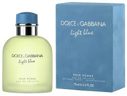 Light Blue Pour Homme Dolce Gabbana D G Light Blue By Dolce Gabbana For Men Eau De Toilette Spray 2 5 Fl Oz