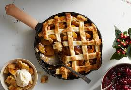 —renee schettler rossi, new york, new york Classic Apple Pie Made In A Cast Iron Skillet Field Company