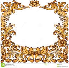 black and gold frame png. Gold Vintage Frame Black And Png K