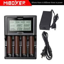 Miboxer Monster Level Fast Battery Charger C4-12 4 Slots, 3A for Each, China