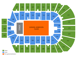 Jam In The Valley Seating Chart Blue Cross Arena Seating Chart And Tickets