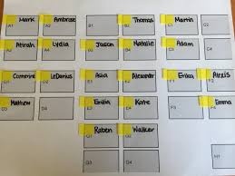 Make A Seating Chart Reserved Seating How To Make Seating Charts Fun Memphis Teacher
