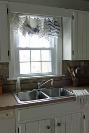 curtains for kitchen window above sink unique modern kitchen curtains over sink sink ideas