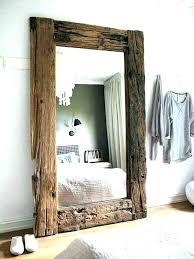 rustic wall mirrors australia mirror decor ideas 720 960