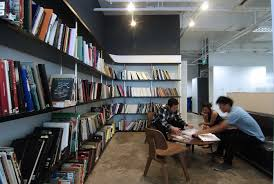 office library design. Concept DDB Office Interior Design By BBFL Minimalist Architecture Designs Library