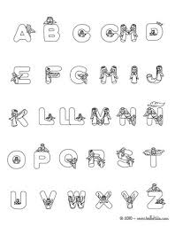 Small Picture CHRISTMAS SPANISH ABC coloring pages Coloring pages Printable