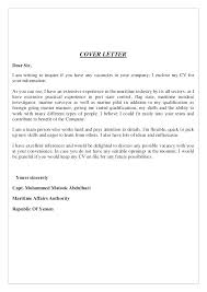 Example Cover Letter Email Sample Cover Letter Sample Application