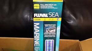 ep 8 damsel in the dark unboxing review fluval sea marine reef led 2 0 aquarium light you
