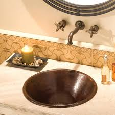 sinks native trails copper sink reviews drop in rectangular bathroom care sinks s drop in
