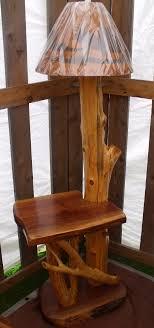 brilliant walnut side table floor lamp handcrafted furnitue end table floor lamp prepare