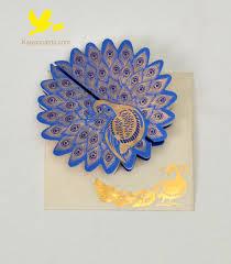 Wedding Card Design Peacock Invitation Cards Design