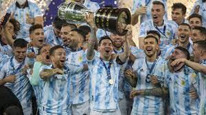 Copa América: Di María lupft Argentinien zum Titel – Messi & Neymar  ausgezeichnet | Tr