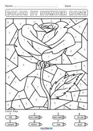 See more ideas about color by numbers, coloring pages, color by number printable. Free Color By Number Worksheets Cool2bkids