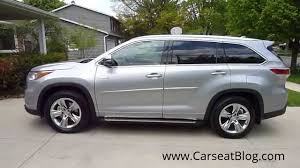2014-2015 Toyota Highlander Hybrid Review Part I: Kids, Carseats ...