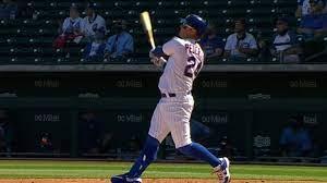 Joc Pederson hits Cubs first spring homer