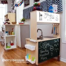 DIY IKEA Play Kitchen  Cherry Blossom Love