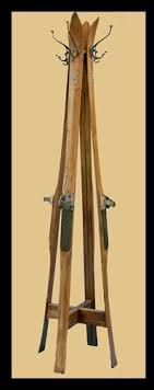 Next Coat Rack SkHook Is A Sporty Coat Hanger Made From Old Skis SkiSnowboard 84