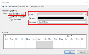 How To Highlight A Time Period In Gantt Chart In Microsoft