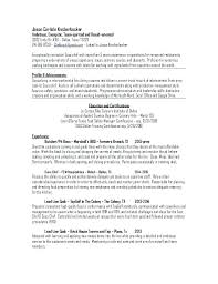 Sous Chef Resume Template New Executive Chef Resume Examples Sous Chef Resume Sample Chef Resume